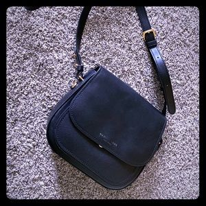 Authentic Marc Jacobs Black Leather Crossbody